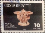 Stamps : America : Costa_Rica :  Intercambio 0,45 usd 10 colones 1984