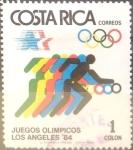 Sellos de America - Costa Rica -  Intercambio nfxb 0,20 usd 1 colones 1984