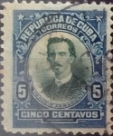 Stamps : America : Cuba :  5 cents. 1910