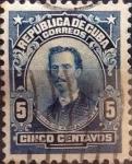 Sellos de America - Cuba -  Intercambio 0,20 usd 5 cents. 1911