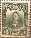 Stamps Cuba -  Intercambio 0,20 usd 1 cents. 1911