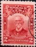 Sellos de America - Cuba -  Intercambio 0,20 usd 2 cents. 1911