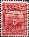 Stamps : America : Cuba :  Intercambio 0,20 usd 2 cents. 1911