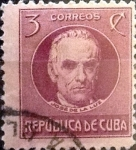 Sellos del Mundo : America : Cuba : Intercambio 0,20 usd 3 cents. 1917