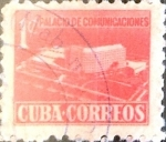 Sellos de America - Cuba -  Intercambio 0,20 usd 1 cents. 1958
