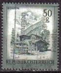 Sellos de Europa - Austria -  AUSTRIA 1974 Scott 958 Sello º Paisaje Granja en Im Zillertal Tirol Michel 1475 Yvert1303 Osterreich
