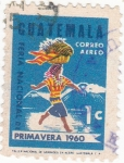 Sellos de America - Guatemala -  feria nacional de primavera 1960