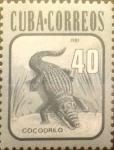 Sellos del Mundo : America : Cuba : Intercambio agm 1,00 usd 40 cents. 1981