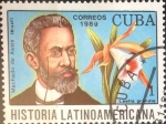 Stamps Cuba -  Intercambio cxrf2 0,20 usd 1 cents. 1989