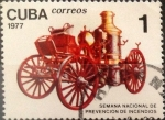 Stamps : America : Cuba :   1 cents. 1977