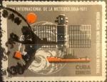 Sellos de America - Cuba -  Intercambio 1,25 usd 30 cents. 1971