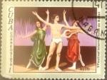 Stamps : America : Cuba :  Intercambio 0,20 usd 1 cents. 1976