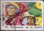 Sellos del Mundo : America : Cuba : Intercambio 0,20 usd 3 cents. 1976