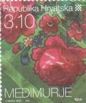 Stamps Croatia -  flores