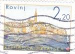 Sellos de Europa - Croacia -  panorámica de Rovinj