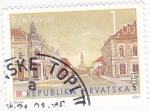 Sellos de Europa - Croacia -  panorámica de Bjelovar