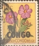 Stamps : Africa : Democratic_Republic_of_the_Congo :  Intercambio nf4b1 0,20 usd 10 cents. 1960