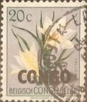 Sellos del Mundo : Africa : República_Democrática_del_Congo : 20 cents. 1960