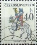 Sellos del Mundo : Europa : Checoslovaquia : Intercambio 0,20 usd 40 h. 1974