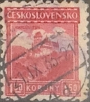 Stamps : Europe : Czechoslovakia :  1,50 k. 1929
