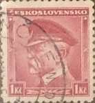 Stamps : Europe : Czechoslovakia :  1 k. 1935