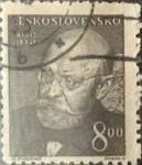 Sellos de Europa - Checoslovaquia -  Intercambio 0,20 usd 8 k. 1949