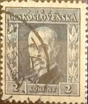 Stamps : Europe : Czechoslovakia :  2 k. 1925