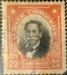 Sellos de America - Chile -  Intercambio 0,20 usd 20 cents. 1911