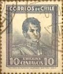 Sellos de America - Chile -  Intercambio 0,35 usd 10 cents. 1932