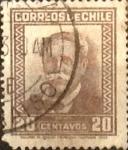 Sellos de America - Chile -  Intercambio 0,30 usd 20 cents. 1931