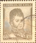 Stamps : America : Chile :  60 cents. 1950