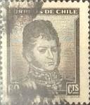 Sellos de America - Chile -  Intercambio 0,20 usd 60 cents. 1950