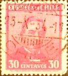 Sellos de America - Chile -  Intercambio 0,35 usd 30 cents. 1934