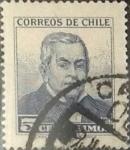 Stamps Chile -  Intercambio 0,20 usd 5 cents. 1960