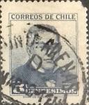 Sellos de America - Chile -  Intercambio 0,20 usd 5 cents. 1960