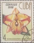 Sellos de America - Cuba -  Intercambio crxf 0,20 usd 4 cents. 1986