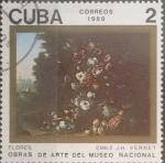 Sellos de America - Cuba -  Intercambio crxf 0,20 usd 2 cents. 1989