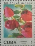 Stamps Cuba -  Intercambio 0,20 usd 1 cents. 1988