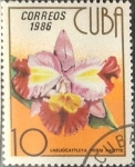 Sellos de America - Cuba -  Intercambio crxf 0,20 usd 10 cents. 1986