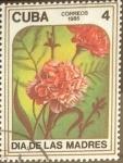 Stamps Cuba -  Intercambio crxf 0,20 usd 4 cents. 1985