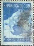 Stamps : America : Cuba :  5 cents. 1949