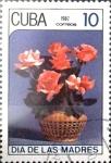 Sellos de America - Cuba -  Intercambio crxf 0,20 usd 10 cents. 1987
