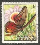 Stamps : Africa : Burundi :  271 - Mariposa