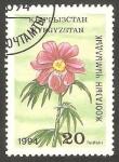 Stamps : Asia : Kyrgyzstan :  Flor