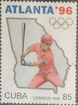 Stamps Cuba -  Intercambio 1,50 usd 85 cents. 1995