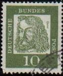 Stamps Europe - Germany -  ALEMANIA 1961 Michel 350 SELLO PERSONAJES FAMOSOS USADO