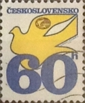 Stamps : Europe : Czechoslovakia :  Intercambio m1b 0,20 usd 60 h. 1974