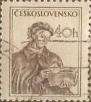 Sellos del Mundo : Europa : Checoslovaquia : Intercambio 0,20 usd 40 h. 1954