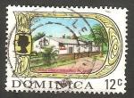 Stamps : America : Dominica :  272 - Elizabeth II, y proceso de copra