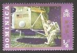 Stamps : America : Dominica :  286 - Primer hombre sobre la Luna